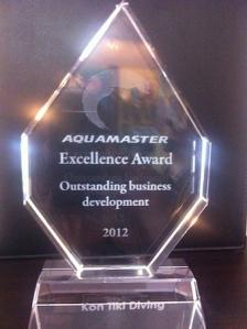 Kon-Tiki Thailand's Excellence Award for Outstanding Business Development