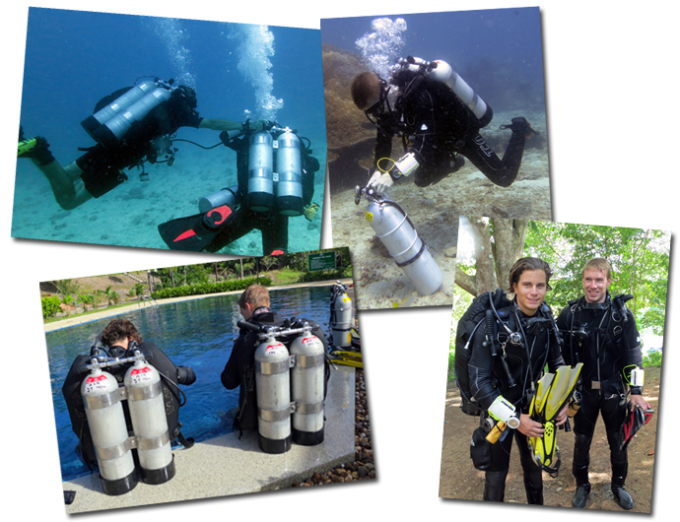 Technical diving thailand koh lanta october