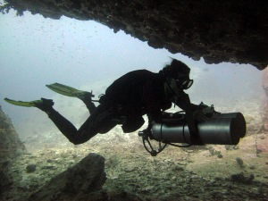 diving thailand padi sidemount similan islands