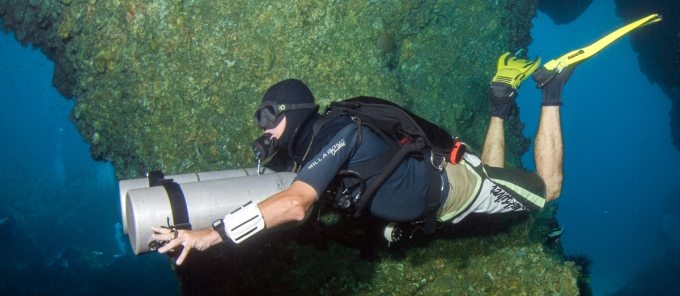 PADI Sidemount diver specialty course thailand