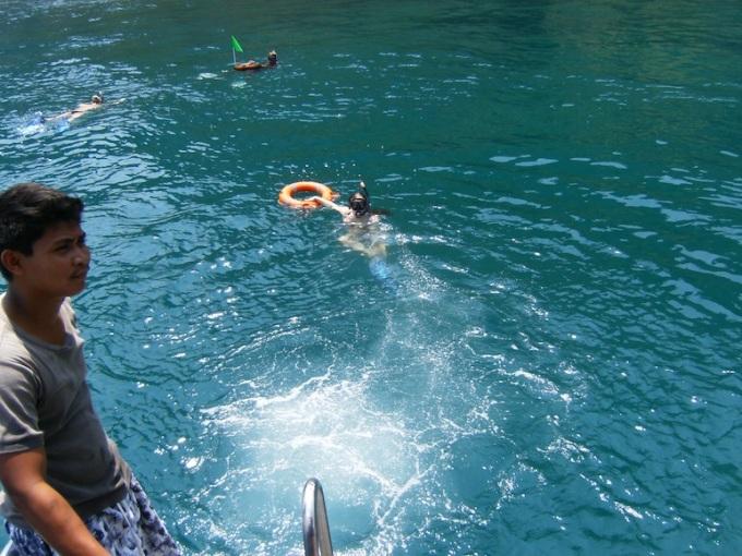 Emelie Snorkeling Kon-Tiki Krabi