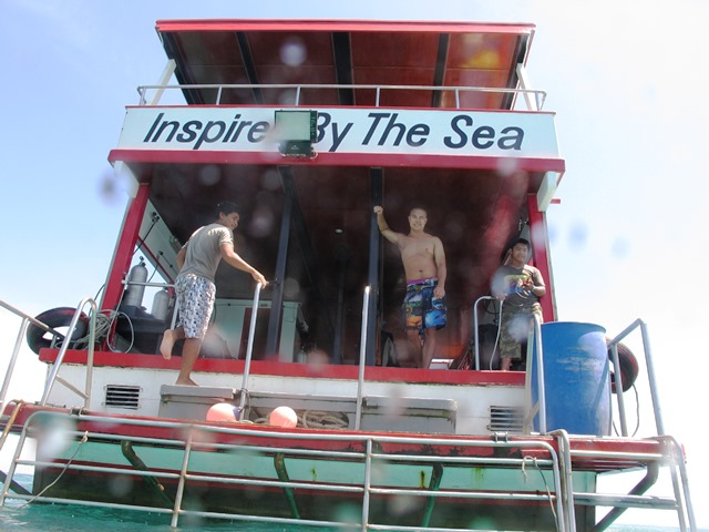 Kon-Tiki boat Andaman Sea