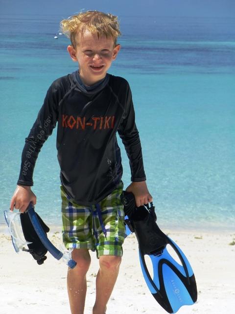 Kon-Tiki Rashguard Snorkeling Scuba diving