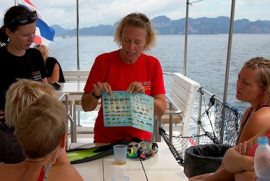 PADI Snorkeling guide Krabi Thailand