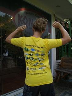 Kon-Tiki Thailand Fish T-Shirt