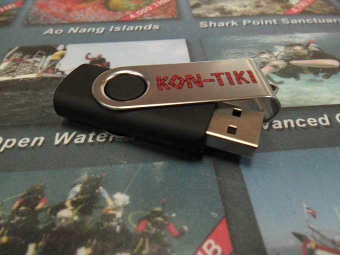 Kon-Tiki USB stick Thumb drive 2 GB