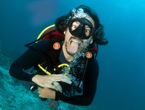 Deep diving thailand koh lanta nitrogen narcosis