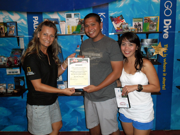 TDEX Bangkok winner Kon-Tiki Dive trip with hotel and flights