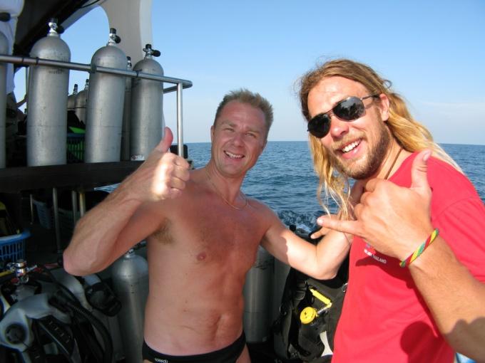 Peter aka Jesus Open Water Course Kon-Tiki Koh Lanta Thailand