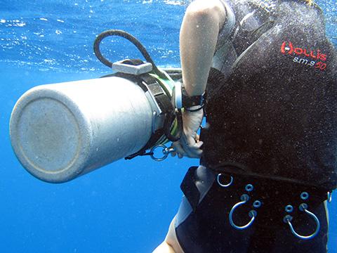 Sidemount diving thailand ao nang krabi koh lanta