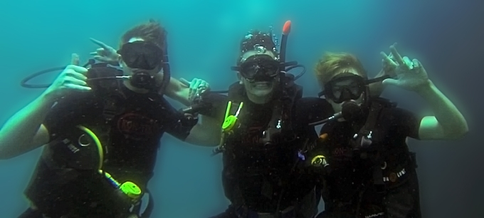 Internship thailand diving with Kon-Tiki